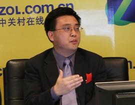 微软全球副总裁 微软中国研发集团总裁张亚勤在中关村在线访谈室侃侃而谈