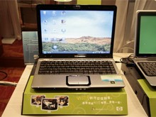Vista上市 惠普电脑展台一览