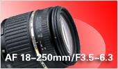 AF 18-250mm F3.5-6.3