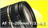 AF 18-200mm F/3.5-6.3