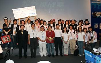 决赛选手集体照