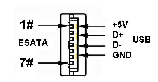 USB PLUS接口原理图