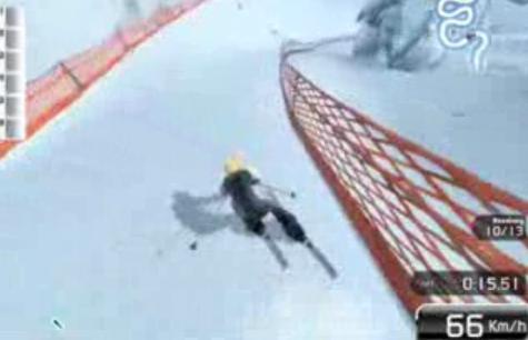 滑雪演示视频