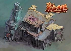 《兽血沸腾》游戏原画1
