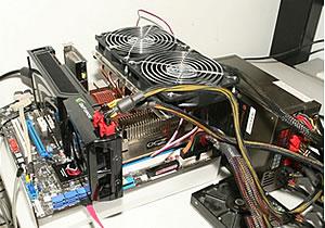旗舰显卡狂超20% GTX280风冷超频实测