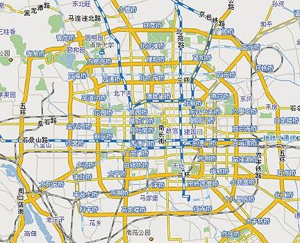 高清北京多张地图
